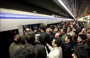 علت توقف طولانی قطار در برخی ایستگاههای مترو