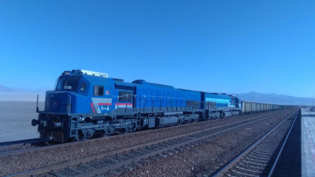 تست نهایی لکوموتیو مپنا(map24) در راه آهن یزد