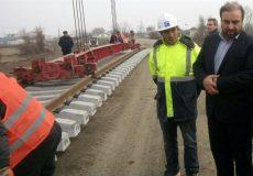 پروژه راهآهن اردبیل – میانه در آغاز دهه فجر ریلگذاری میشود