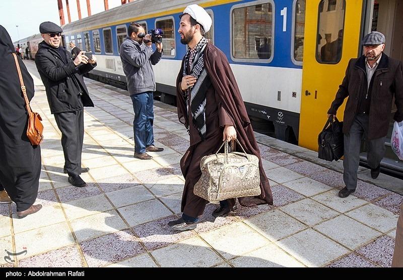 درصد اشغال قطار ارومیه ـ مشهد به ۷۰ درصد رسید/استقبال ارومیهایها از سفر ریلی به مشهد مقدس