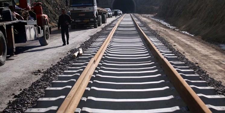 عملیات ریلگذاری راه آهن اردبیل آغاز شد