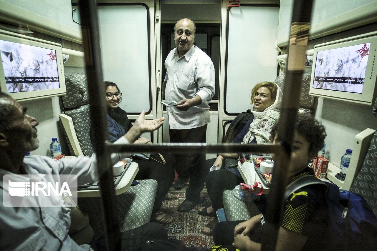 افزایش ۱۰ درصدی جابهجایی مسافران در راهآهن شیراز