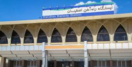 جابجایی بیش از یک میلیون مسافر از راه آهن اصفهان