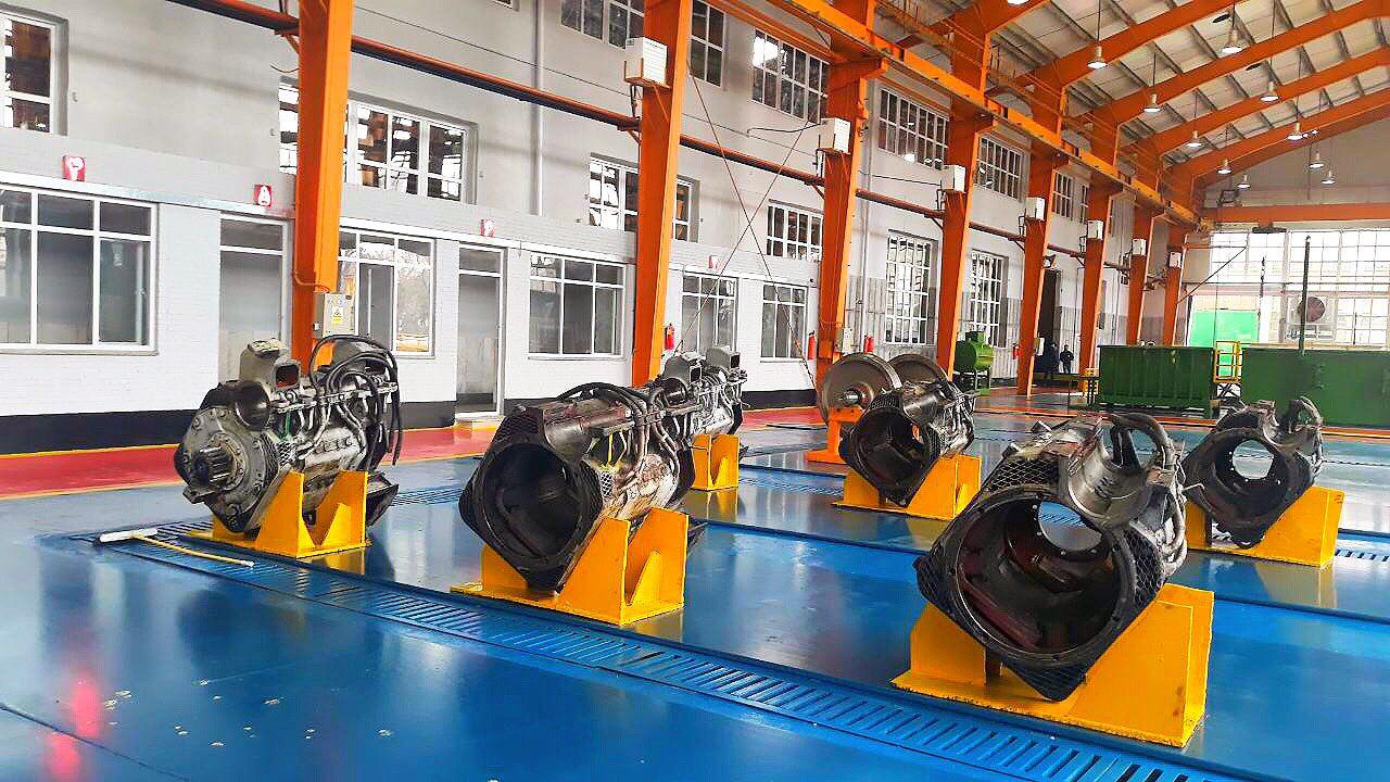 بازسازی واحد شستشوی کارخانجات تعمیرات اساسی لکوموتیوها