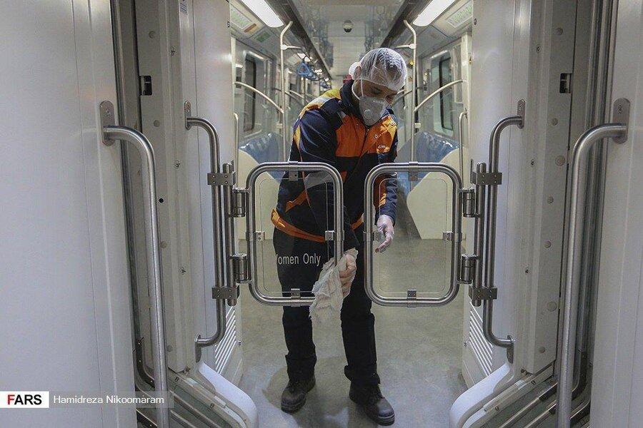 تکذیب خبر بدحال شدن بیمار کرونا در ایستگاه متروی شریعتی / فرد بیمار دچار بیماری صرع بوده است