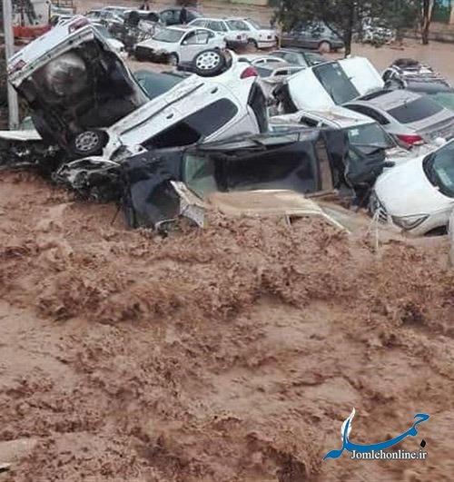 برآورد خسارت ۷۸۲۷ میلیارد ریالی سیل به زیرساختهای جادهای و ریلی