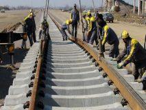 پیشرفت ۱۵ درصدی راه آهن مبارکه به سفیددشت و شهرکرد