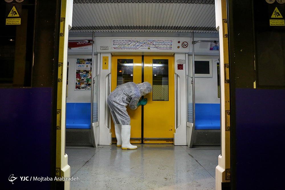 کرونا،سفرهای شهروندان شیراز با مترو را ۸۰ درصد کاهش داد