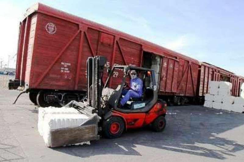 مواد خوراکی صادرات ریلی خراسان بازگردانده میشوند