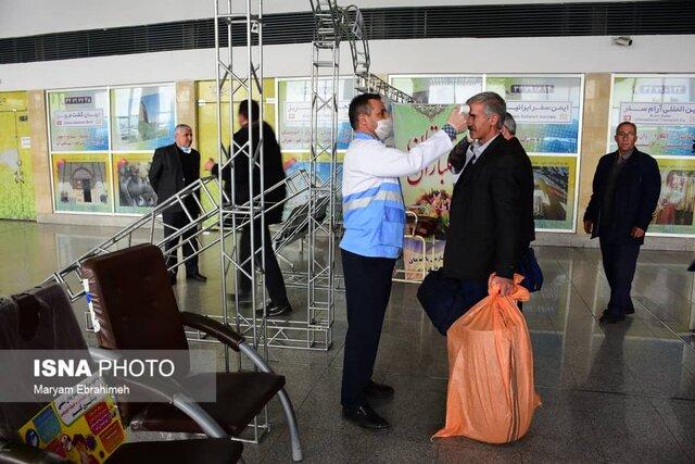 غربالگری مسافران خوزستان در ورودی اندیمشک
