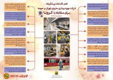 اقدامات شرکت بهره برداری متروی تهران برای مقابله با ویروس کرونا