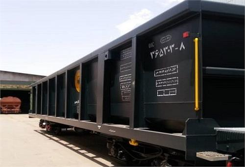 تخلیه ۸۴ هزار تن گندم در راه آهن کرمان