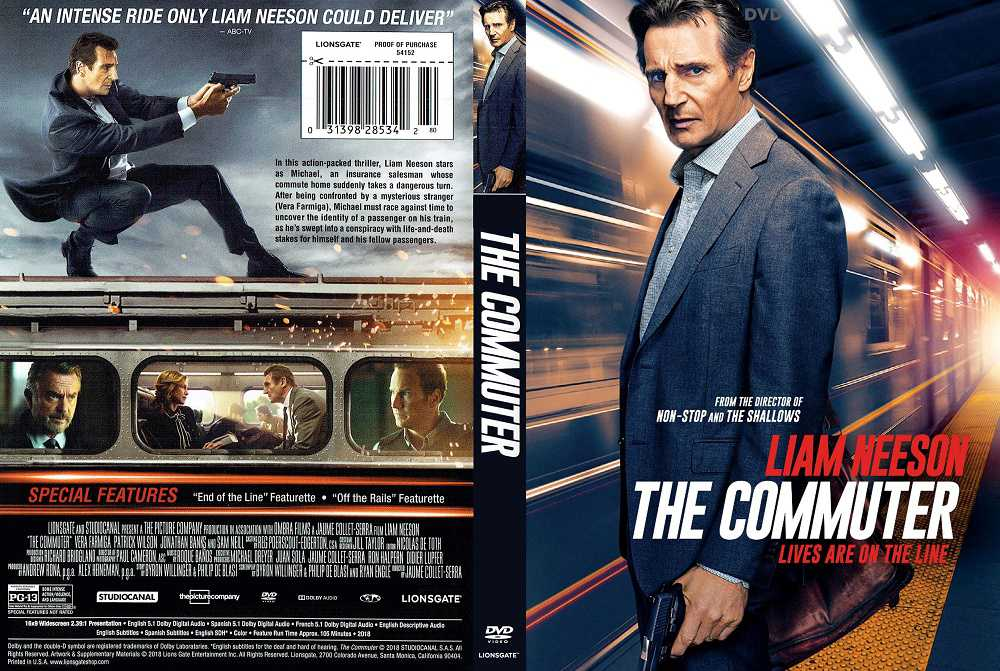 فیلم مهیج مسافر همیشگی The Commuter