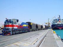 حمل و نقل چند وجهی، انتقال مستقیم کالا از کشتی به شبکه ریلی کشور