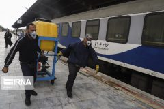 لکوموتیو ناوگان آلِستوم راهآهن در بافق بازسازی شد
