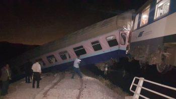 گزارش تصویری/نمای نزدیک از حادثه قطار همدان-مشهد و حضور معاون وزیر راه و شهرسازی