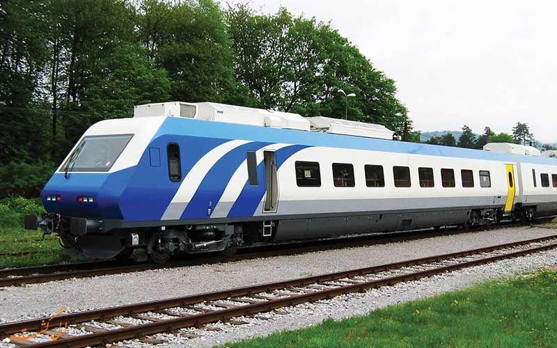 راه اندازی چهارمین رام قطار قزوین _ تهران