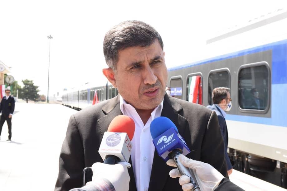 ظرفیت جابه جایی مسافر از طریق قطار در البرز افزایش یافت