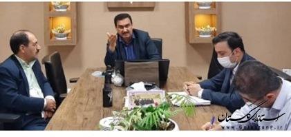 دیدار مدیرکل گمرک استان با مدیرکل راه آهن شمالشرق۲
