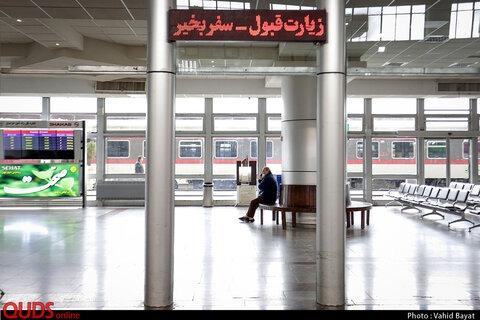 روزانه ۱۴ رام قطار در مسیر ریلی مشهد رفت و آمد دارند