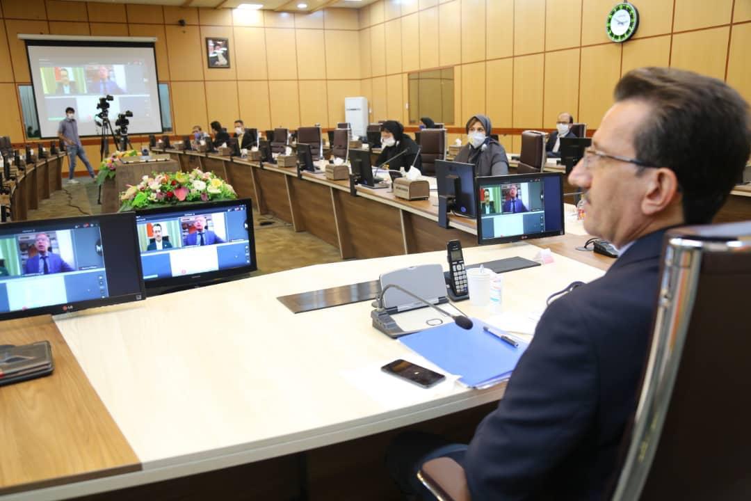 گزارش تصویری از بیست و پنجمین اجلاس مجمع منطقهای راه آهن های خاورمیانه UIC