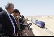 افتتاح راه آهن خواف – هرات در آبانماه/ ظرفیت فعال بندر چابهار ۴ برابر شد