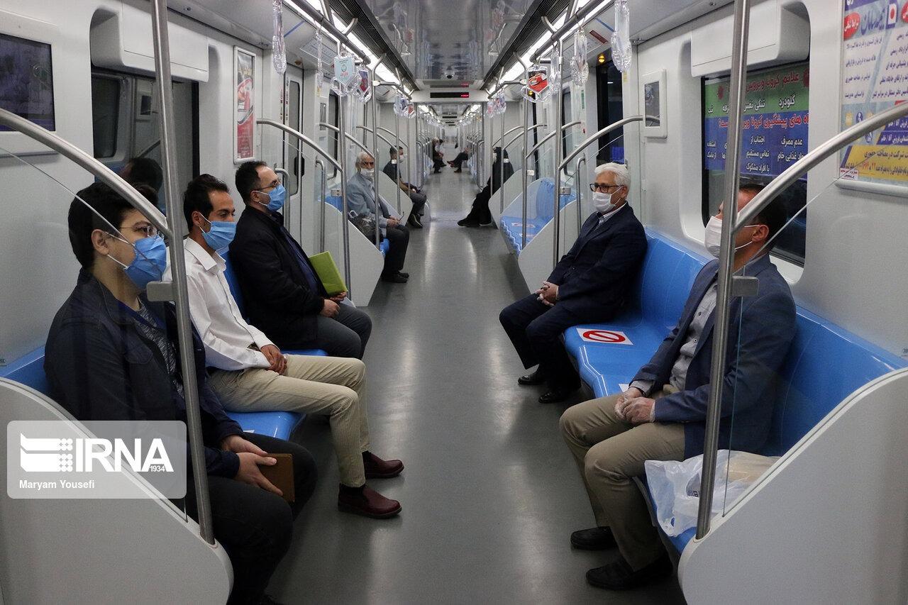 کمبود ۲ هزار واگن در خطوط متروی تهران