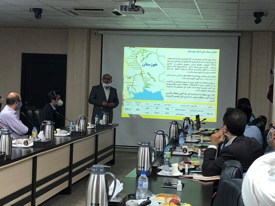 توسعه صنایع فولادی خوزستان همزمان با احداث خط ریلی اهواز- اصفهان