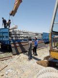 آغاز عملیات بارگیری و حمل تراورس بتنی از راه آهن شمالشرق (۱)