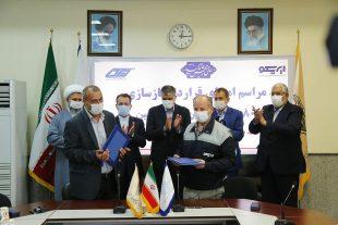 گزارش تصویری/امضا قرارداد بازسازی ۸۰ دستگاه واگن مسافری بین شرکت ایریکو و شرکت رعد تبریز