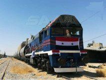 بازگشایی راهآهن دمشق _طرطوس پس از ۹ سال