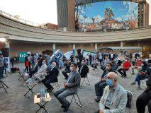 افتتاح رسمی از کتابخانه عمومی در متروی تهران