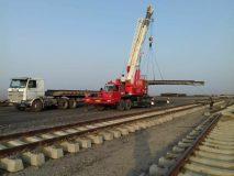آغاز عملیات پروژه روسازی خطوط فرعی جدید ایستگاه چادرملو