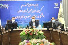 تقدیر و تشکر رئیس و اعضای کمیسیون عمران مجلس از عملکردها و برنامه های شرکت راه آهن