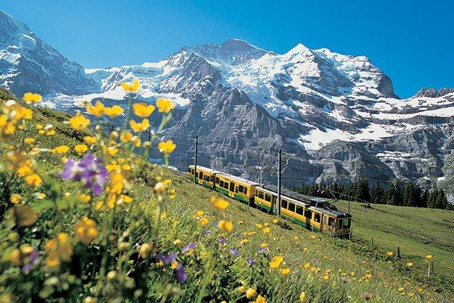 انواع قطار در اروپا