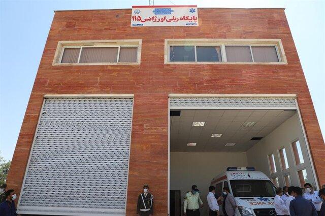 دومین اورژانس ریلی کشور در شیراز افتتاح شد