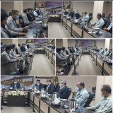 برگزاری جلسه مدیریت و پایش چرخه حمل و نقل ریلی فولاد خوزستان در اداره کل راه آهن جنوب