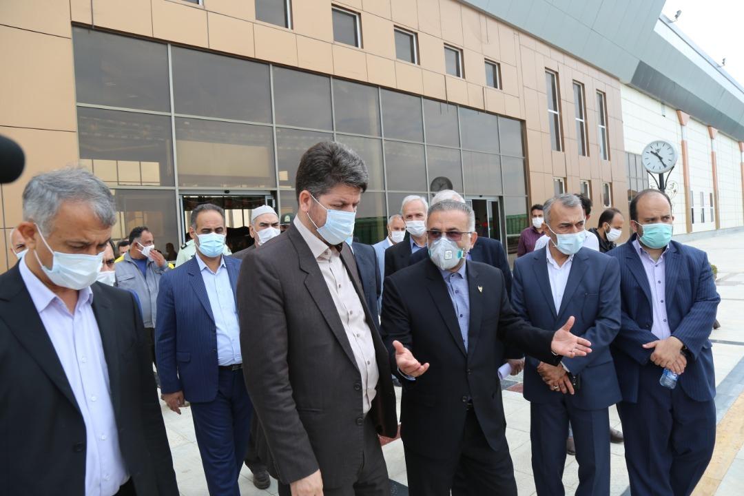 بازدید هیئت اقتصادی دبیرخانه مجمع تشخیص مصلت نظام از ظرفیت ریلی استان گلستان