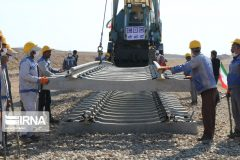 راهآهن همدان-سنندج با ۵۱ درصد پیشرفت در دست اجرا است