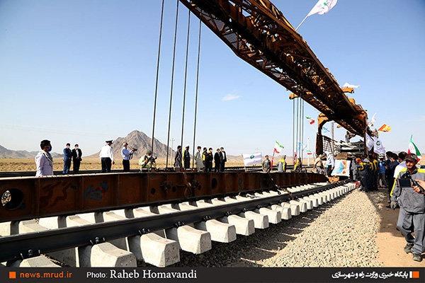 راه آهن خواف – هرات اقتصادی ترین پروژه ریلی کشور است