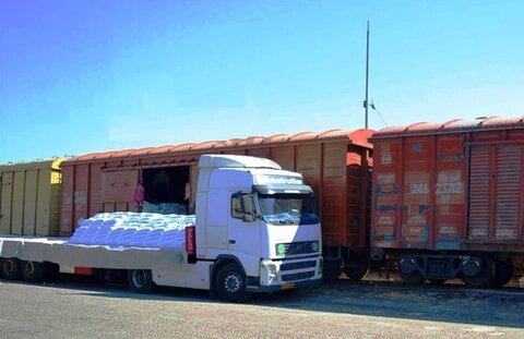 صادرات ریلی خراسان از مرز سرخس ۲ برابر شد