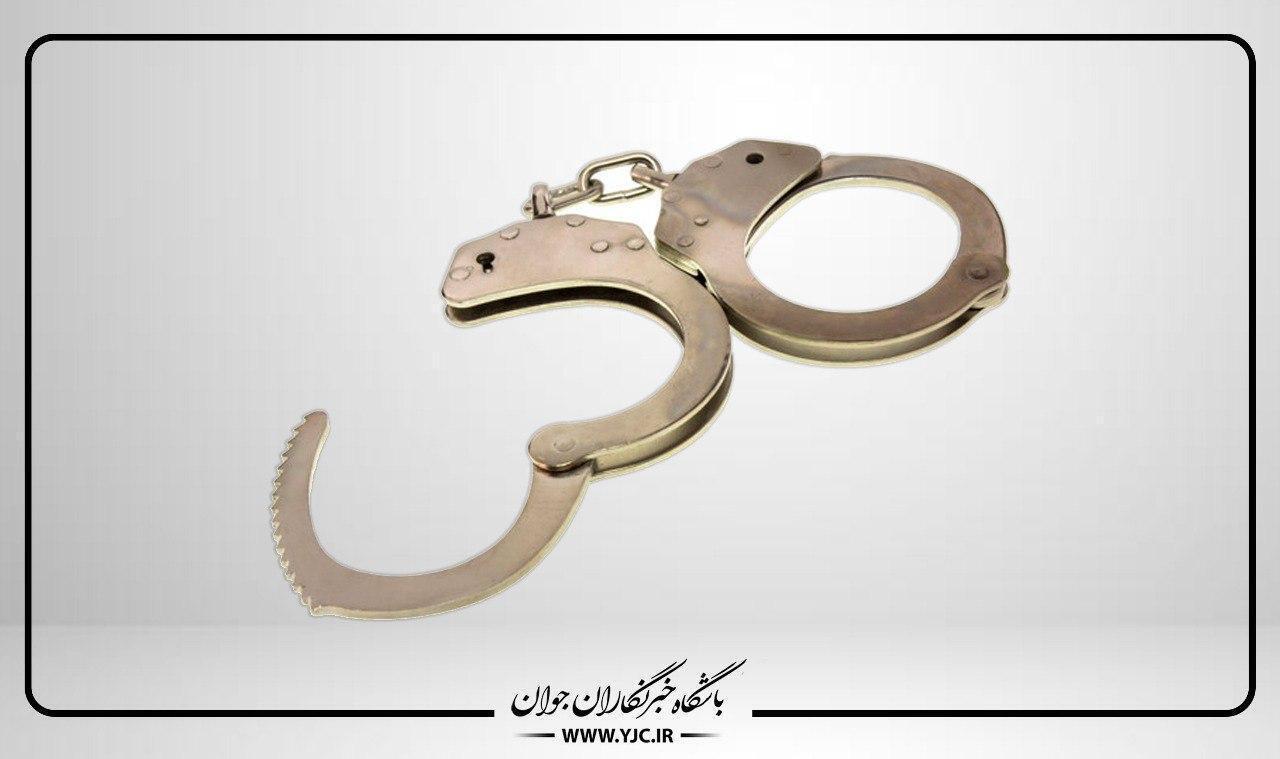 سارق ریل آهن قطار در حین سرقت دستگیر شد