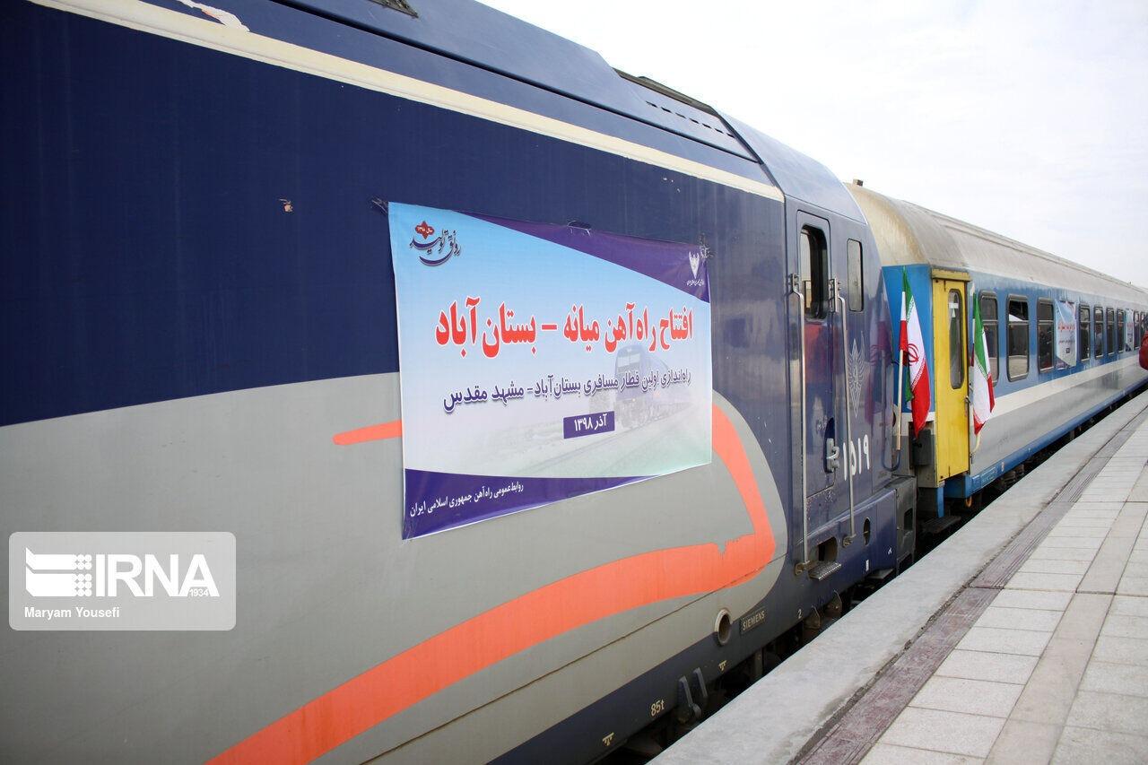 اتمام خطآهن میانه – تبریز نیازمند ۲ هزار میلیارد تومان است