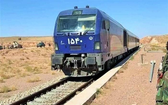 افتتاح راهآهن خواف- هرات با حضور رئیس جمهوری