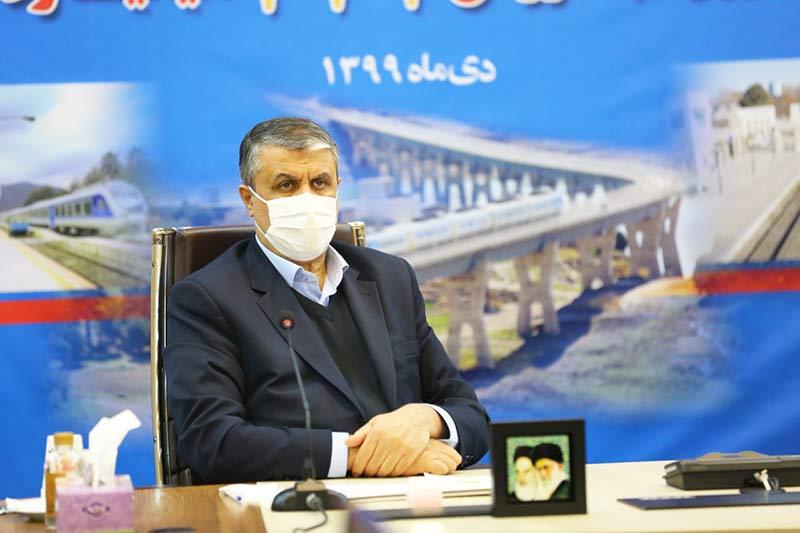 برگزاری مراسم افتتاح پروژه های راه آهن در هفته حمل و نقل به ارزش ۲۷۷ میلیارد تومان