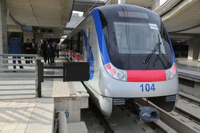 اضافه شدن دو رام قطار به خط یک مترو اصفهان به ارزش ۳۰۰ میلیارد تومان