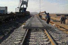 راه آهن اردبیل با پیشرفت ۸۵ درصد موعد مقرر افتتاح می شود