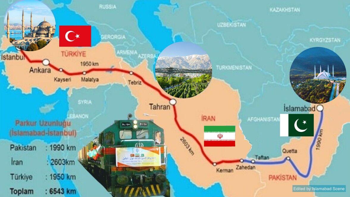 راه آهن اکو، زمینه ساز توسعه منطقه ای