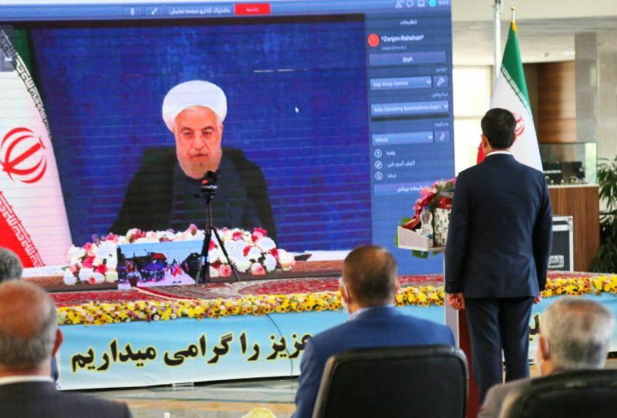 ببینید | افتتاح خط دوم راه آهن زنجان – قزوین به طول ۱۰۶ کیلومتر با دستور رئیس جمهور