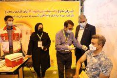 بیش از ۵۰درصد کارکنان شرکت بهره برداری متروی تهران و حومه واکسینه شدند
